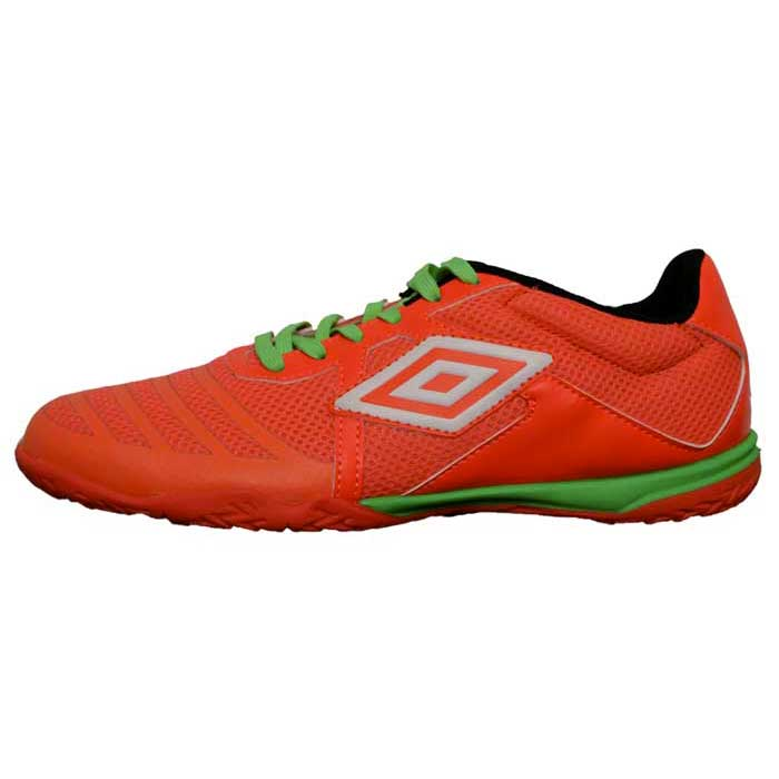 Umbro Vision League Ic EU 40 Fiery Coral / White / Green