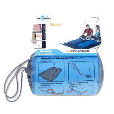 Sea To Summit Nano Mosquito Pyramid Net Net Net Double Standard  Campingausrüstung 606ade