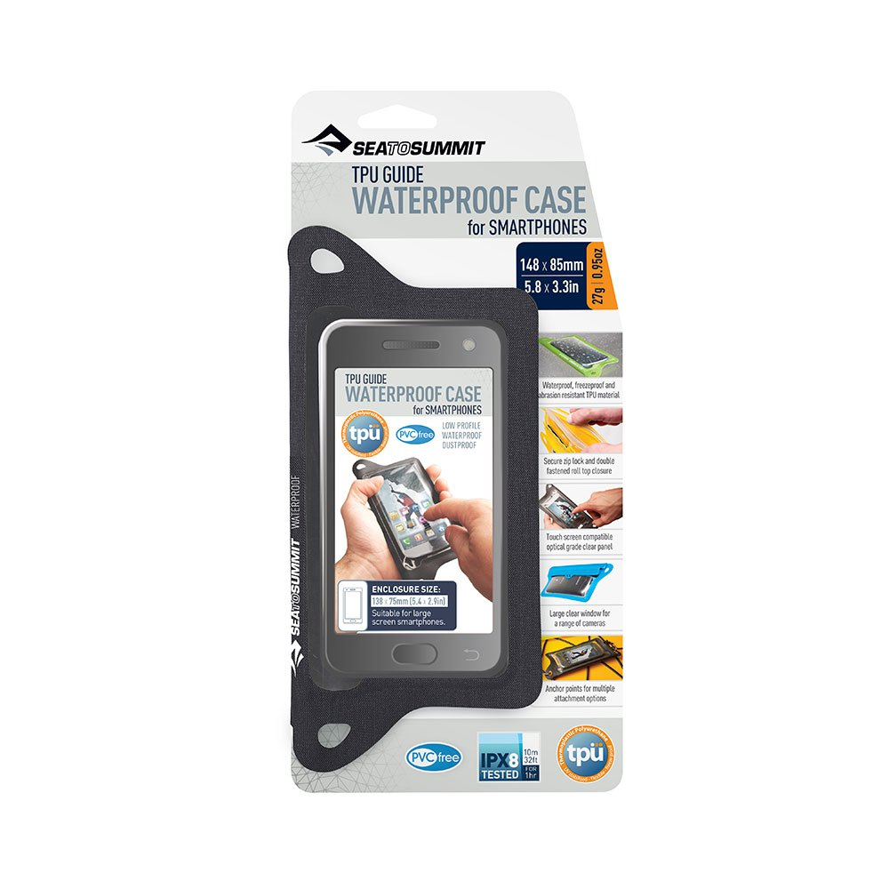 Sea To Summit Tpu Guide Wp Iphones Case 13 x 6.5 cm Black