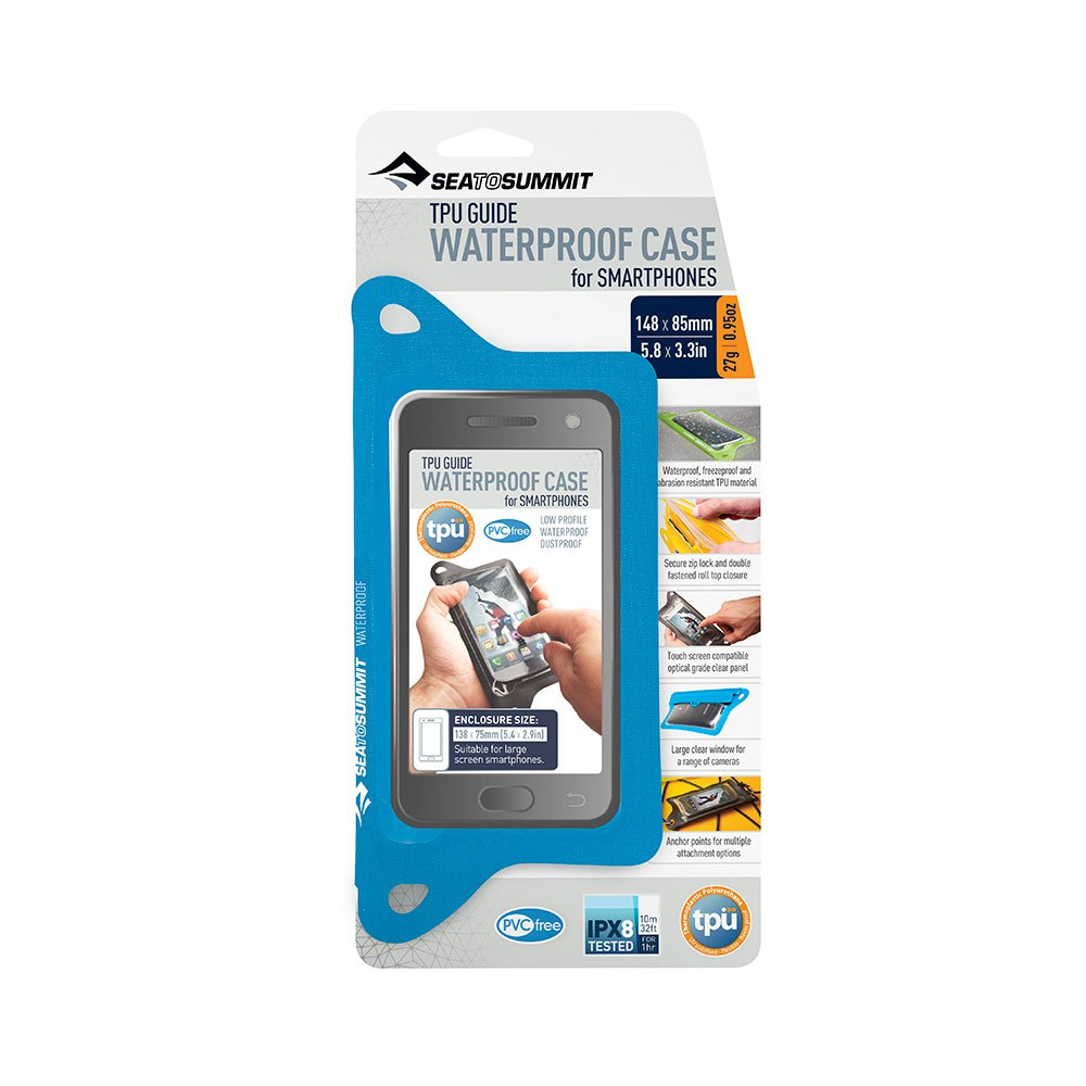 Sea To Summit Tpu Guide Wp Iphones Case 13 x 6.5 cm Blue