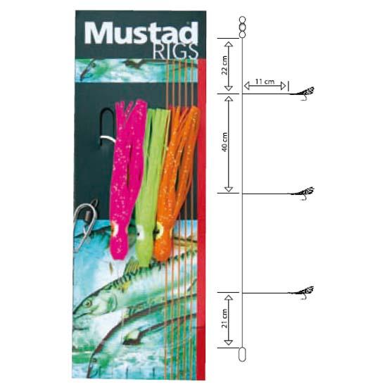 mustad-t3-3-hooks-3-0-blue-orange-red