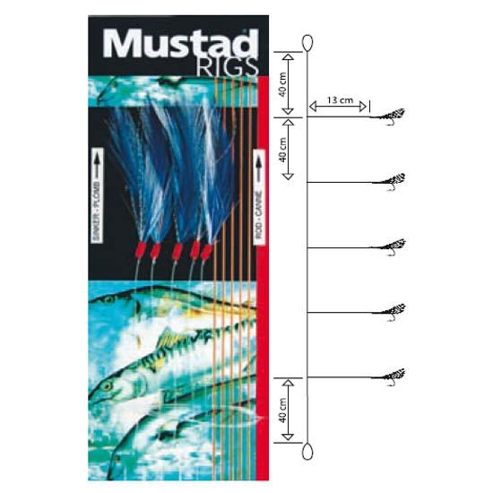 mustad-t58-5-hooks-1-0-240-cm