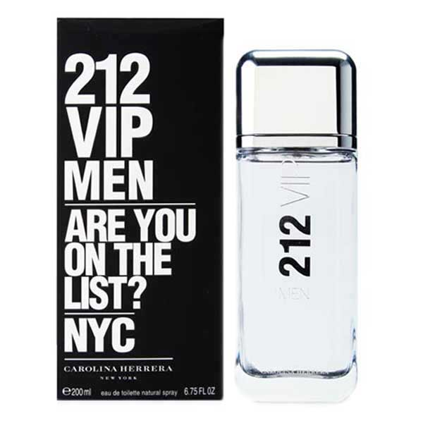 Carolina Herrera 212 Vip Men Eau De Toilette 200ml One Size