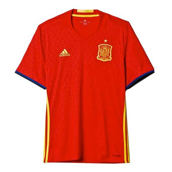 Adidas Spain Home 2016 S Scarlet / Yellow