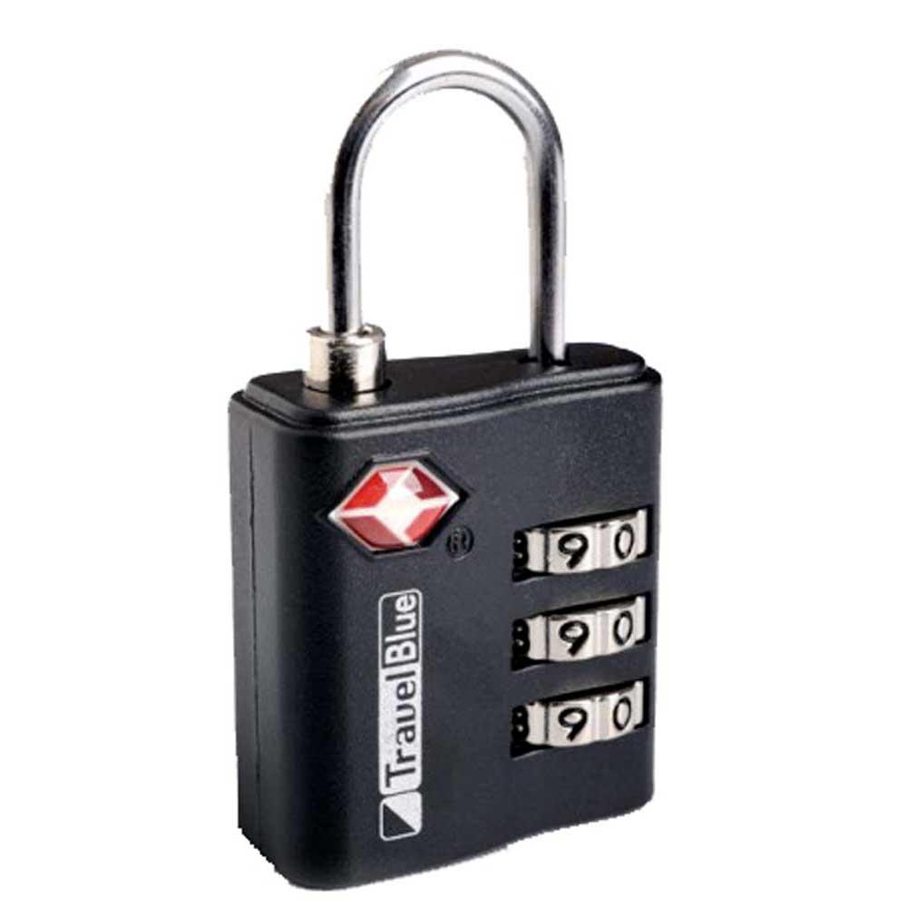Travel Blue Tsa Combination Lock One Size Black