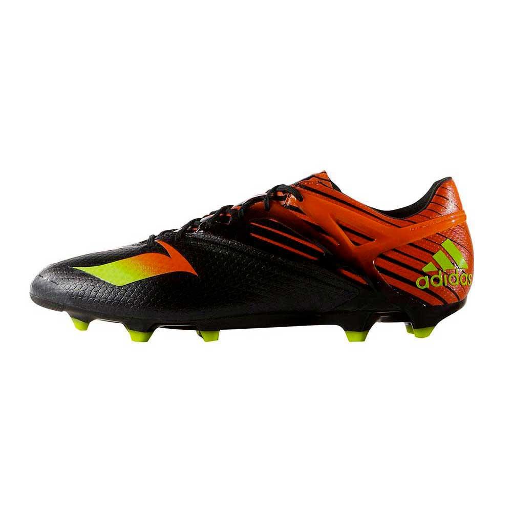 Adidas Messi 15.1 EU 40 2/3 Core Black / Solar Green / Solar Red