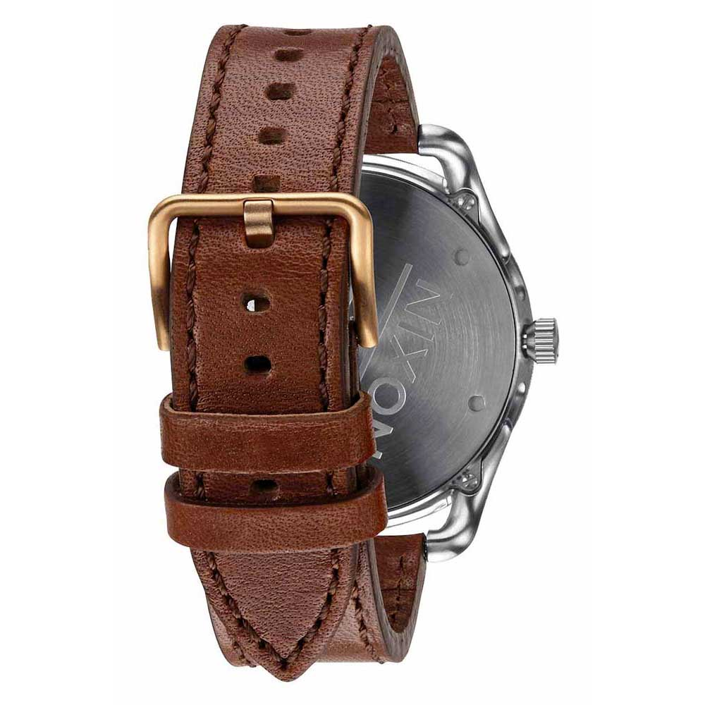 nixon-c45-leather-one-size-gray-rose-gold