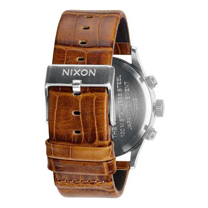 Nixon-Sentry-Chrono-Leather
