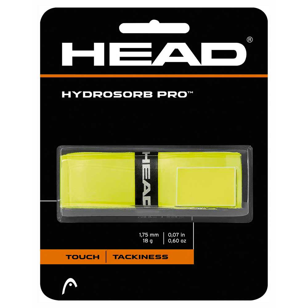 Head Racket Hydrosorb Pro One Size Yellow