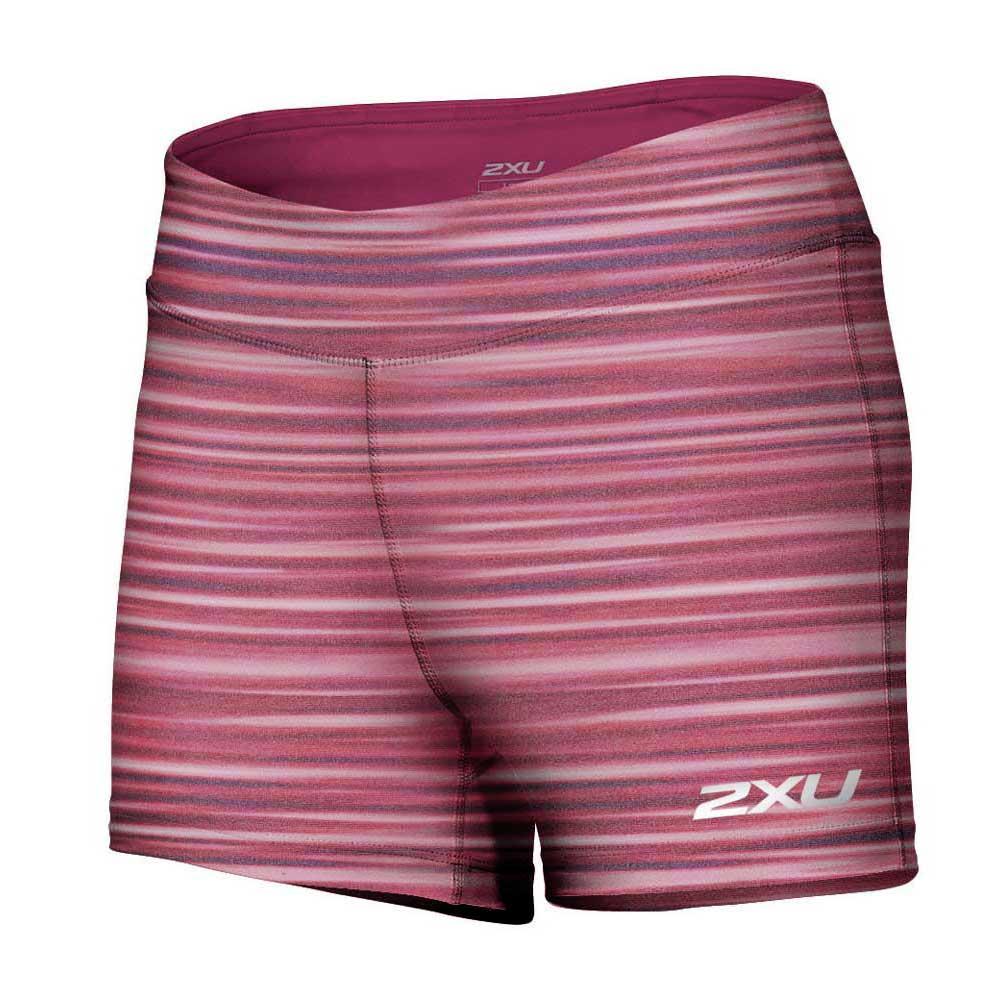 2xu Ice X Speed Short L Printed Cherry Pink / Chp
