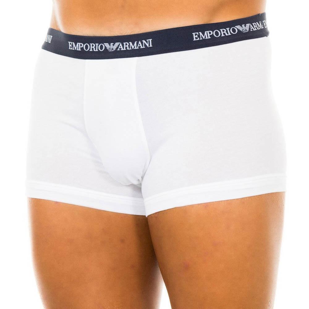 Emporio Armani 111357-cc717-00110 Boxers Pack-3 S White / Black