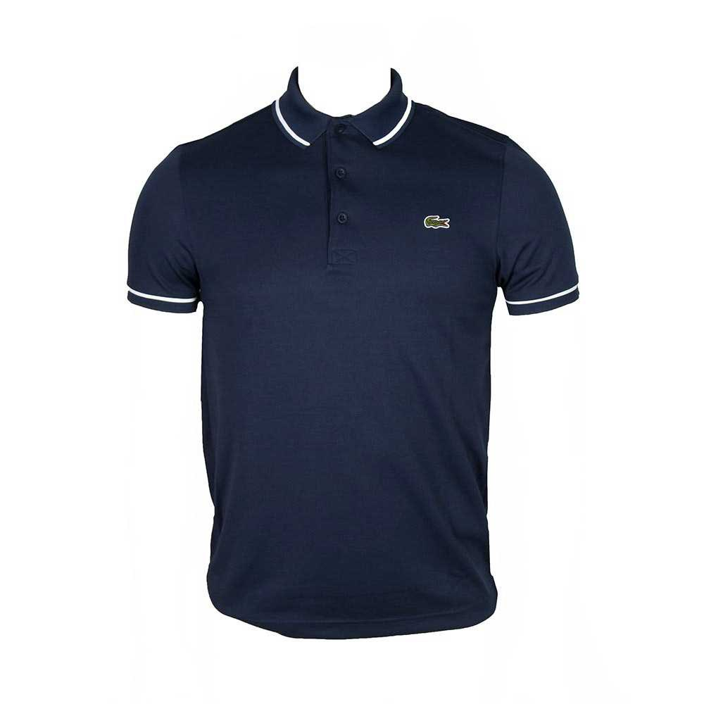 Lacoste Ultra Dry Piping Tennis Polo Shirt L Zephir