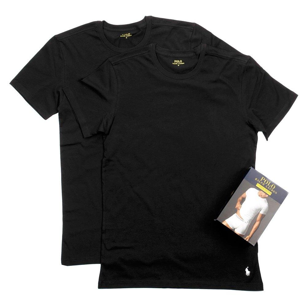 Ralph Lauren Tee Pack-2 Man XL Black