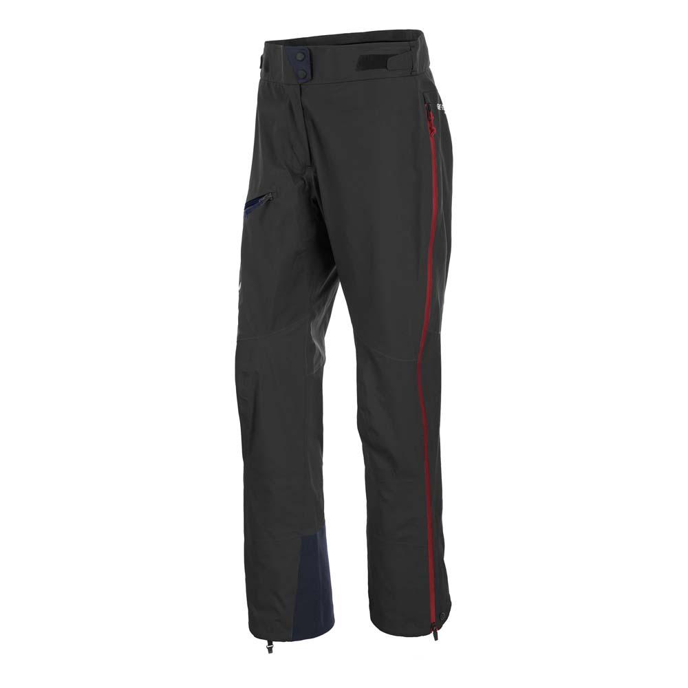 Salewa Ortles 2 Goretex Pro Pants Woman DE 42 Black Out / Papavero / Royal Blue