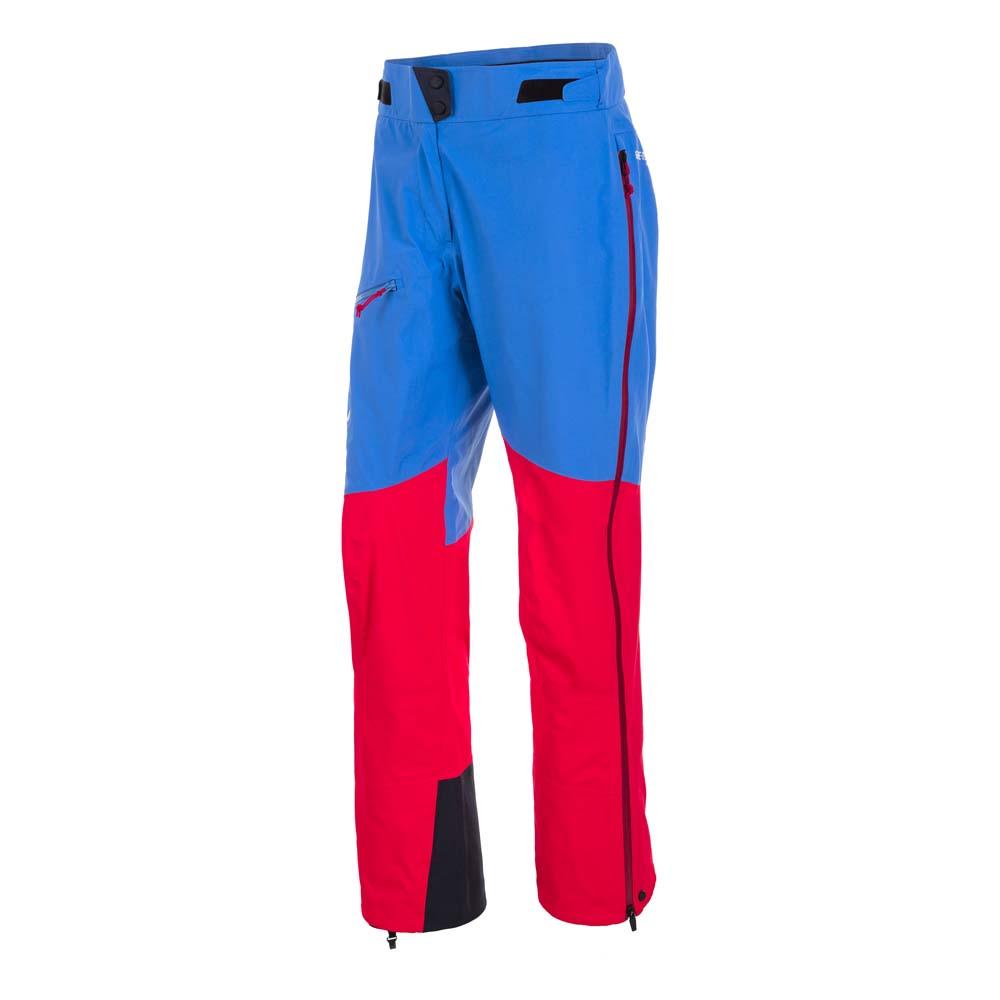 Salewa Ortles 2 Goretex Pro Pants Woman DE 40 Royal Blue / Papavero / Nautical Blue