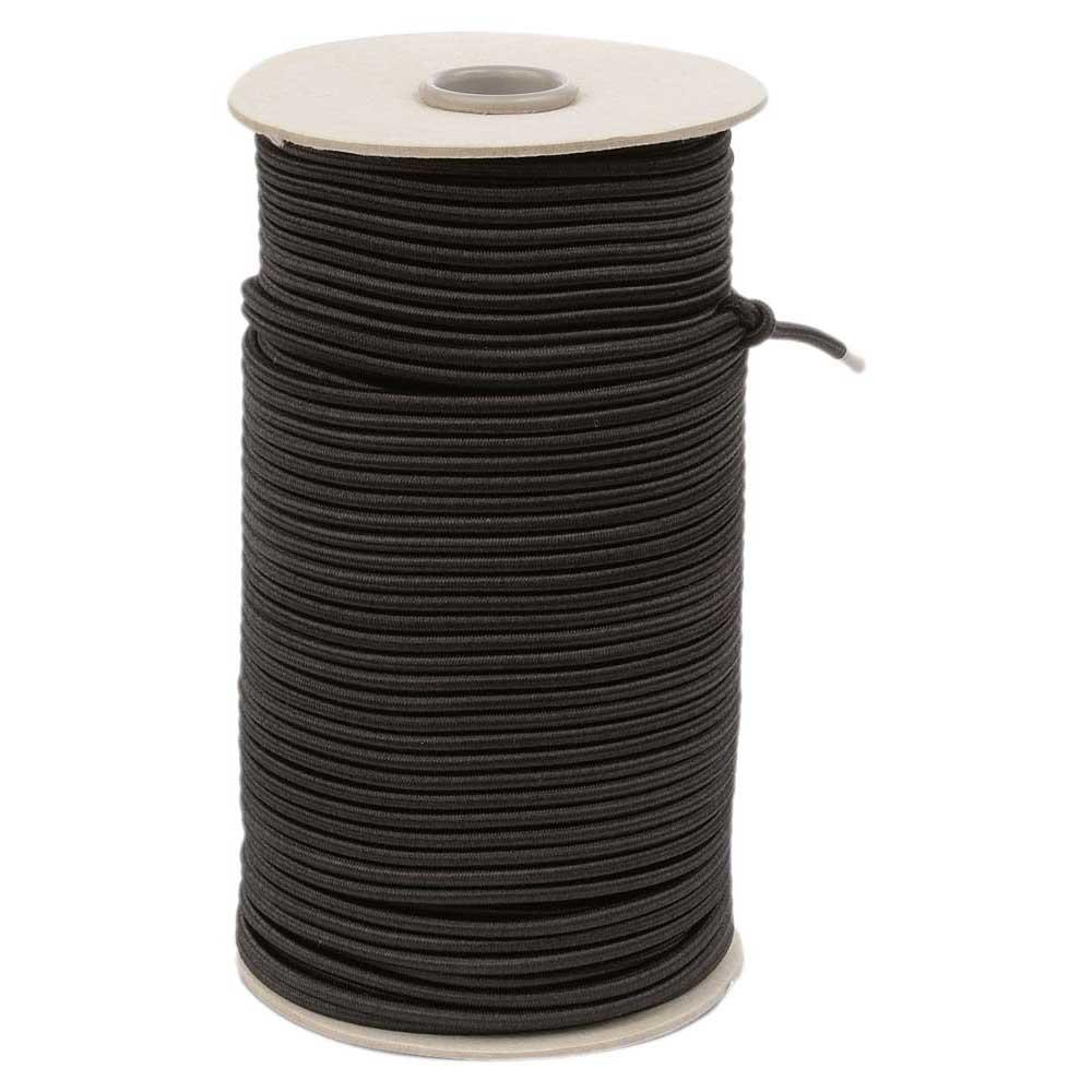 Best Divers Elastic Line 4 mm 100 m Black Rollen und Spulen Elastic Line 4 Mm