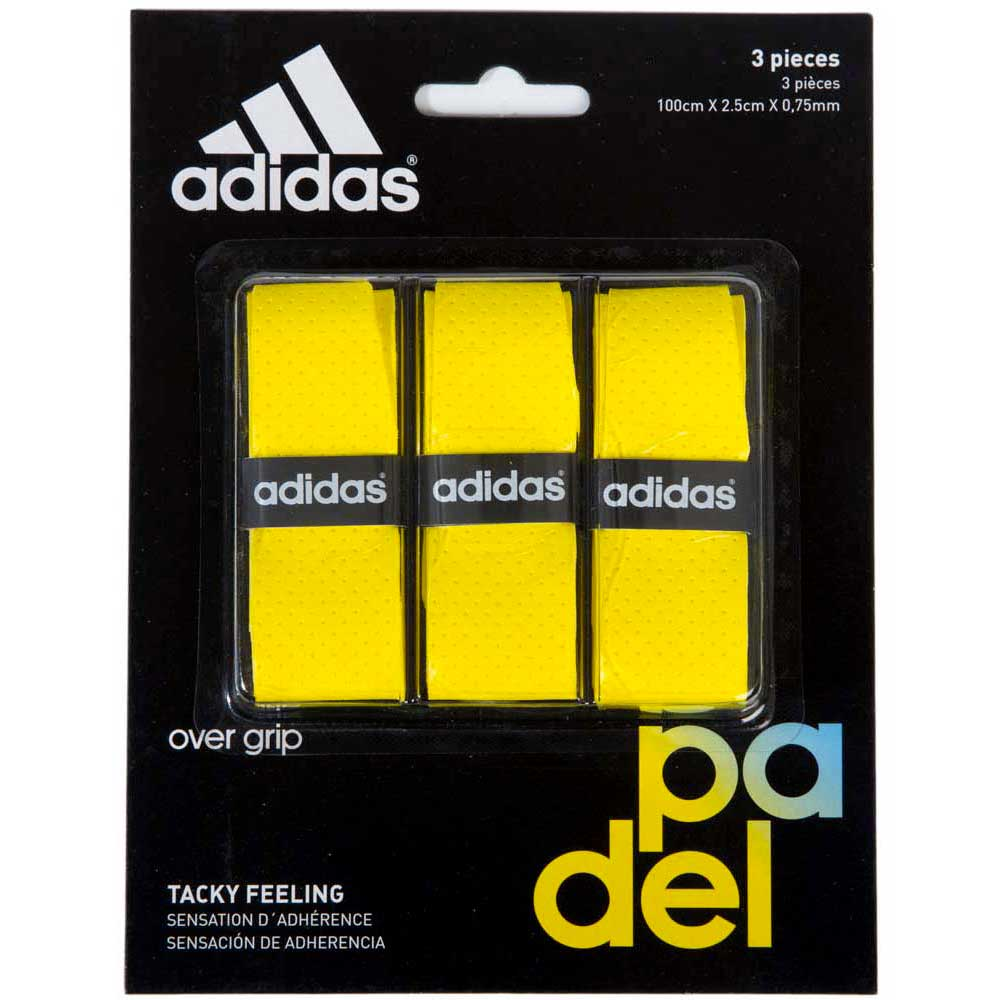Adidas Padel Tacky Feeling 3 Units One Size Yellow