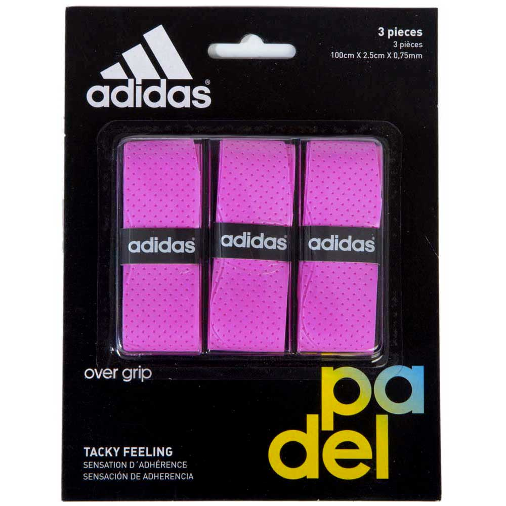 Adidas Padel Tacky Feeling 3 Units One Size Pink