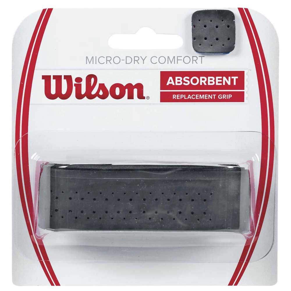Wilson Micro Dry Comfort Replacement One Size Black