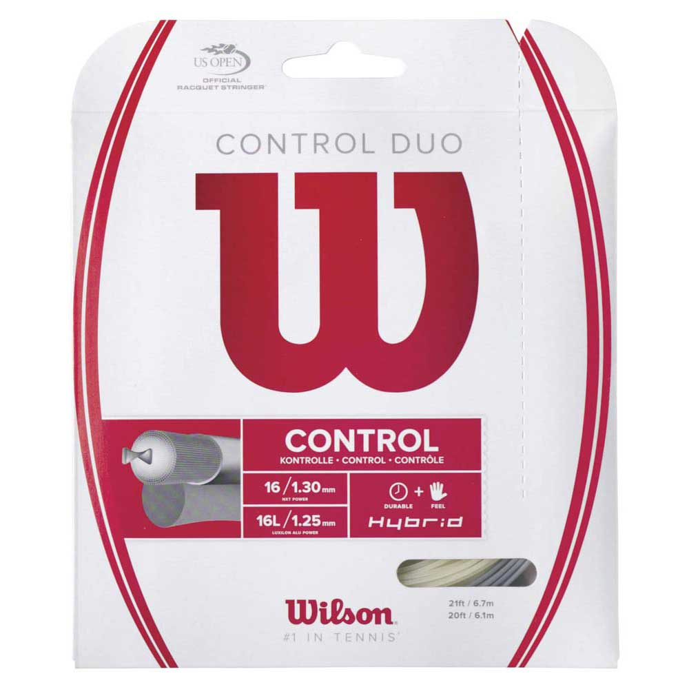 Wilson Control Duo Hybrid 12 M 1.30 mm / 1.25 mm Natural