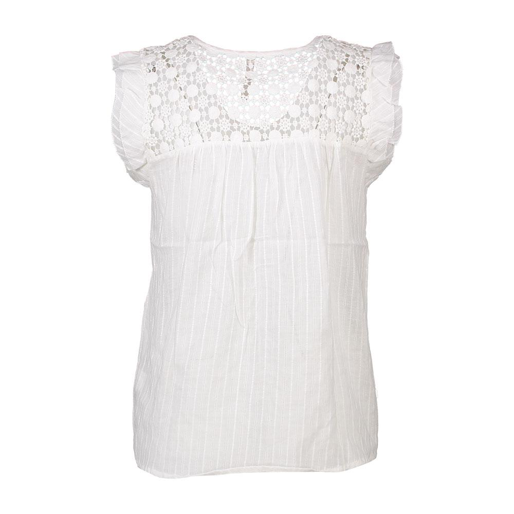 Pepe Jeans Echo bianca , Bluse e e e camicie Pepe jeans , moda , Abbigliamento donna ce358c