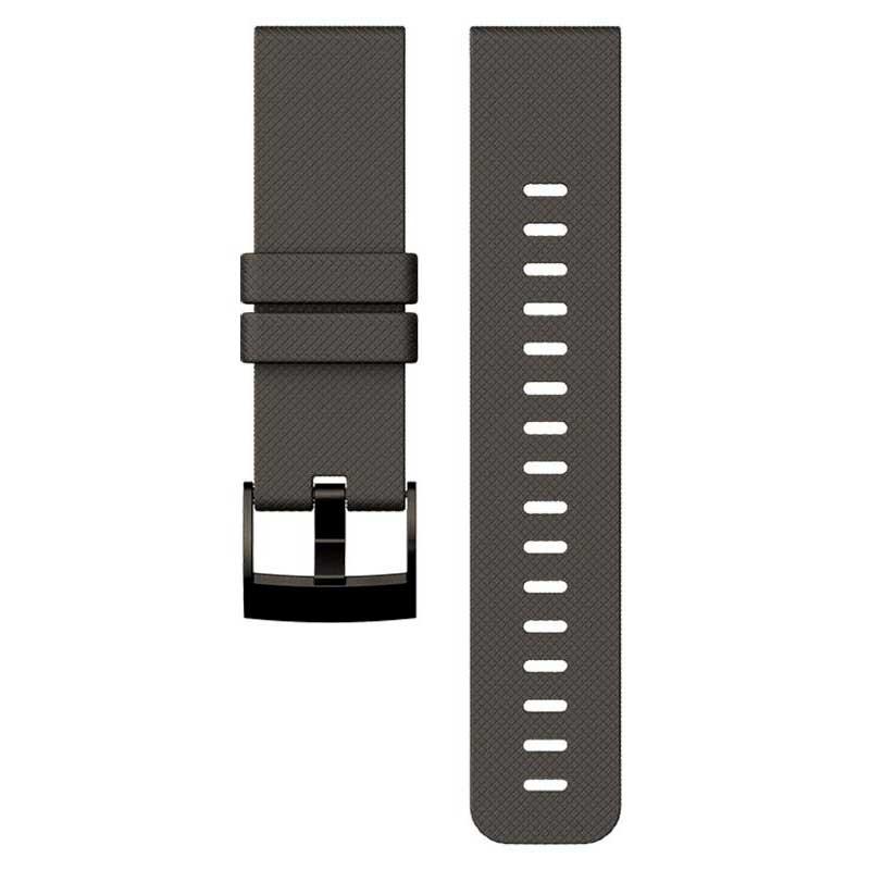 Suunto Traverse Graphite Silicone Strap One Size Graphite