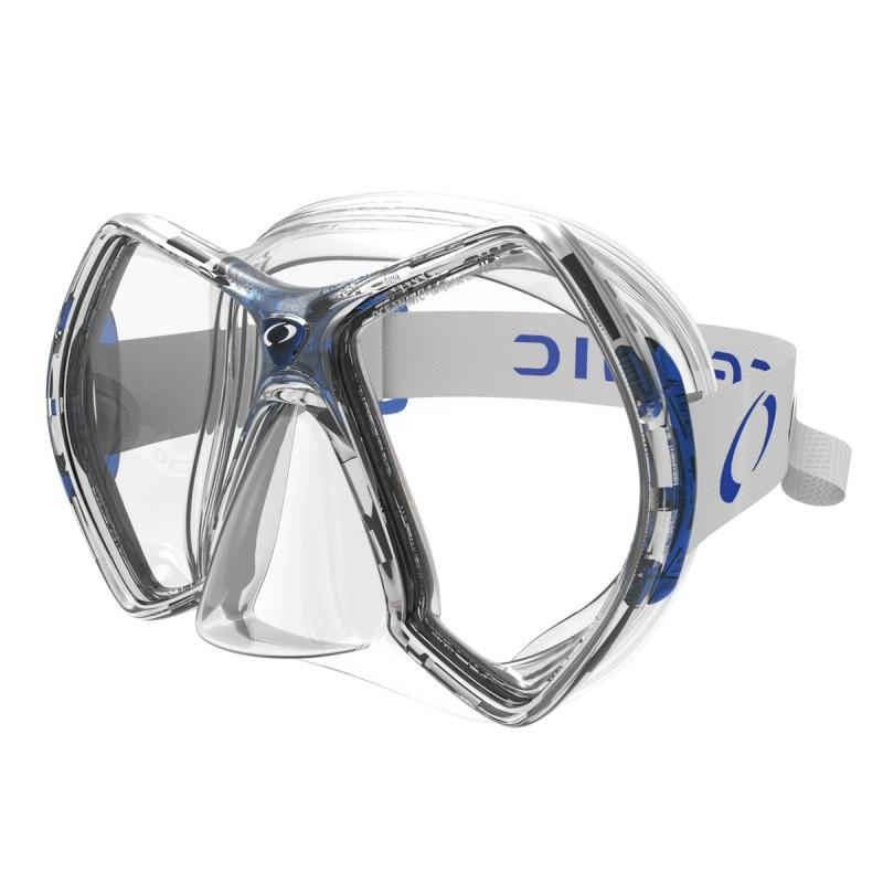Oceanic Cyanea Tauchermaske Clear Blue Tauchmasken Cyanea Tauchermaske