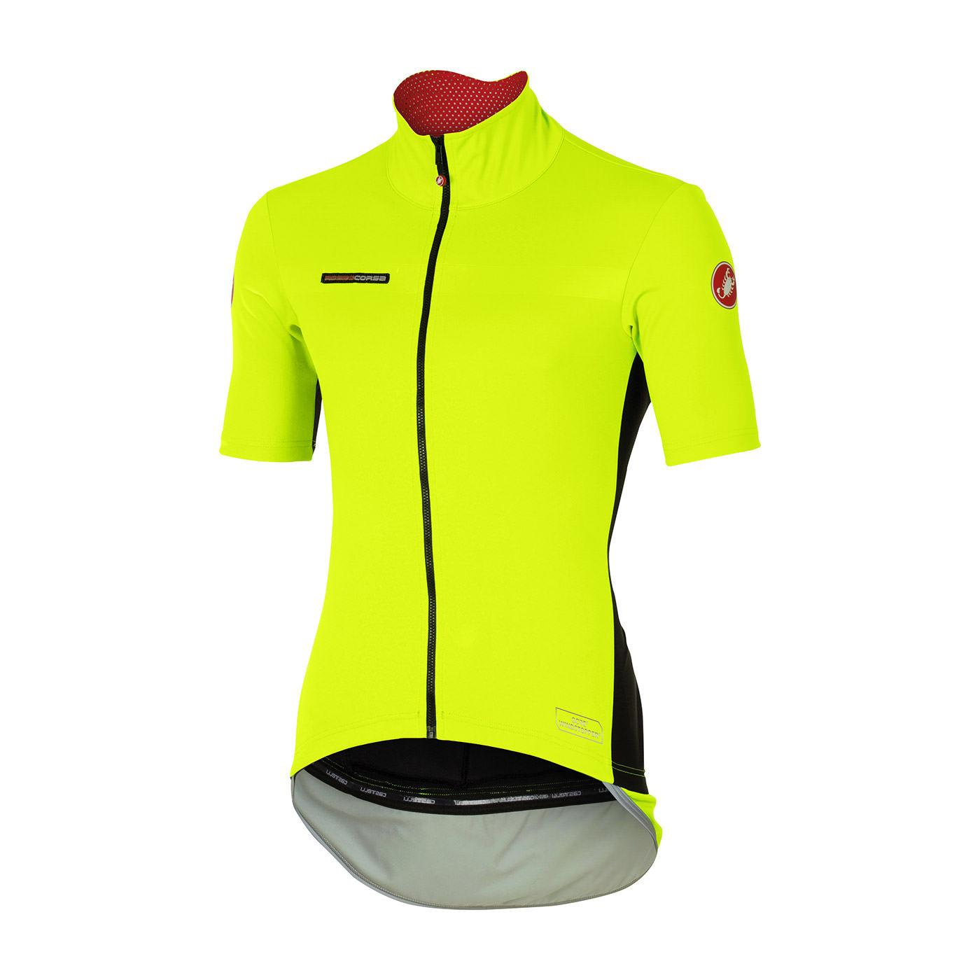 Castelli PERFETTO Light Short Sleeve Windstopper Jersey From Evans Cycles  XL Yellow. About this product. Picture 1 of 2  Picture 2 of 2 5d5d20266