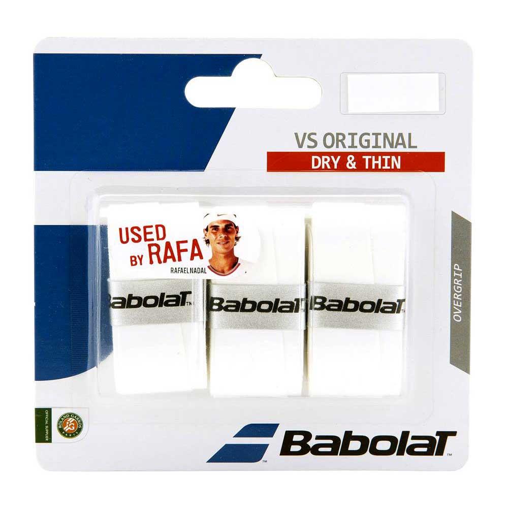 Babolat Surgrip Tennis Vs Original 3 Unités One Size White