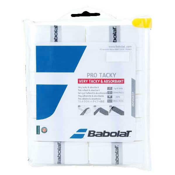 Babolat Pro Tacky 12 Units One Size White