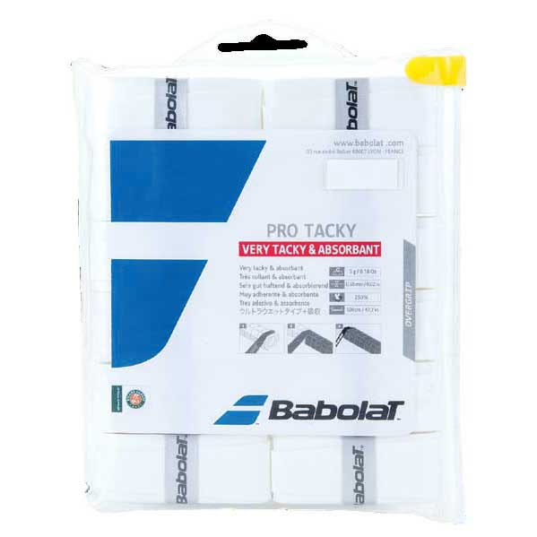 Babolat Surgrip Tennis Pro Tacky 12 Unités One Size White