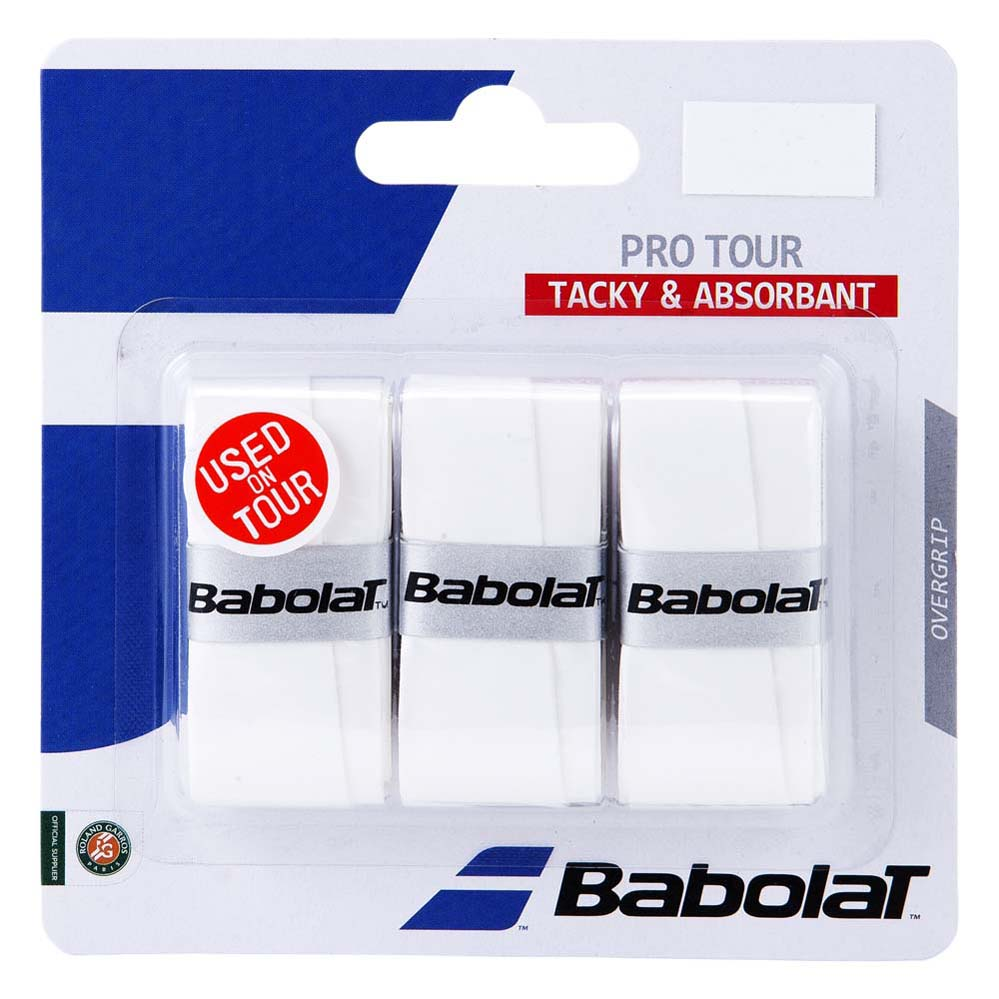 Babolat Pro Tour 3 Units One Size White