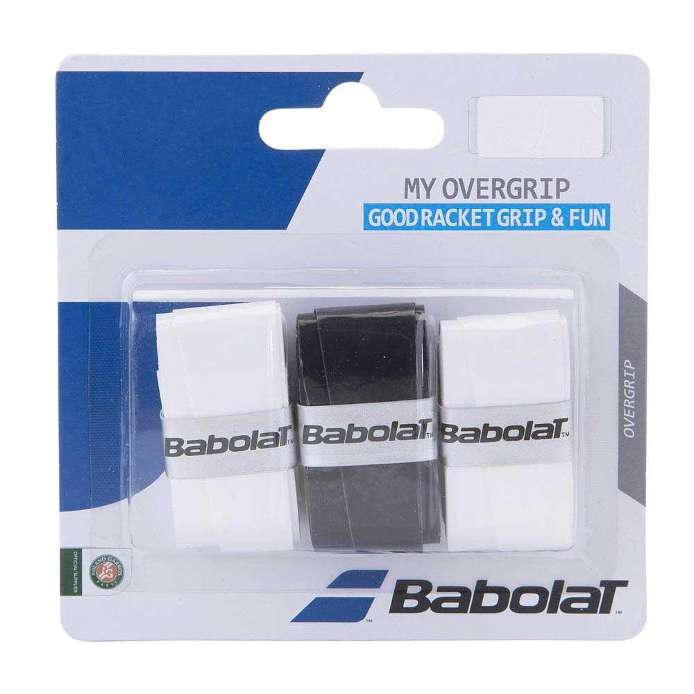 Babolat My Overgrip 3 Units One Size Black / White