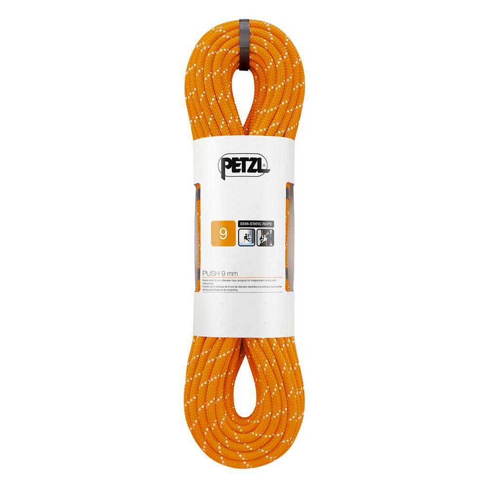 Petzl Push 9 Mm 200 m Orange