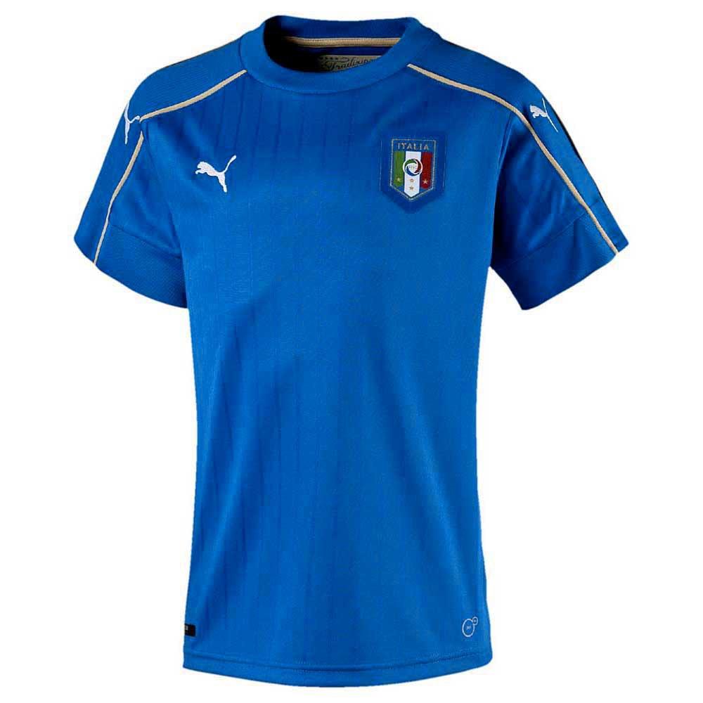 Puma Italy Home 2017 Junior 176 Team Power Blue / White
