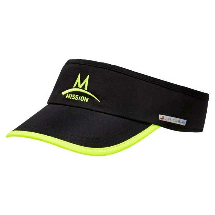 Mission Cooling One Size Black / High Vis Green