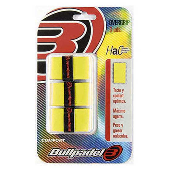 Bullpadel Gb1200 3 Units One Size Yellow