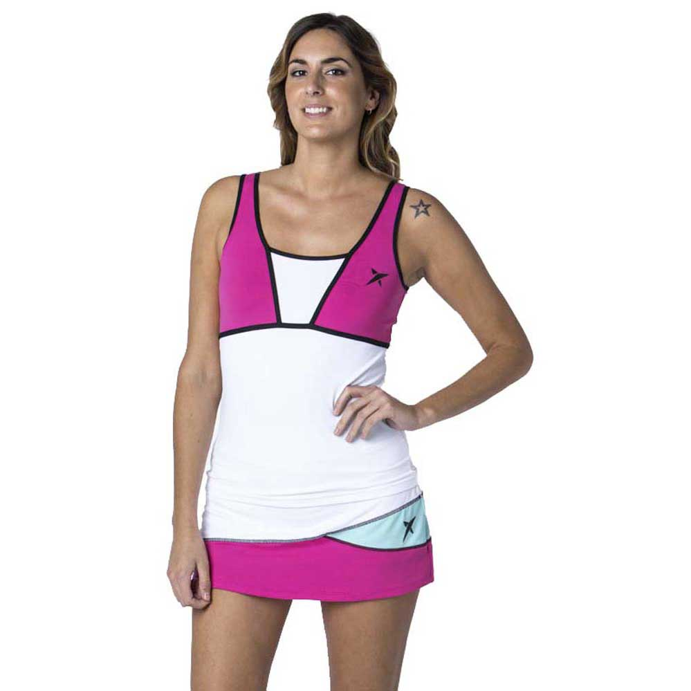 Drop Shot T-shirt Sans Manches Vivian L Pink