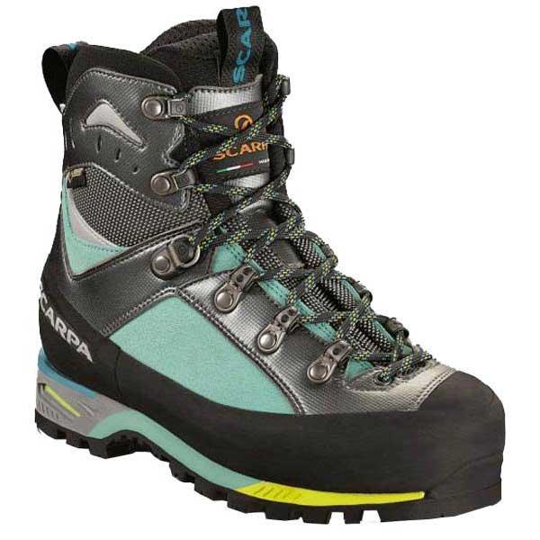 Scarpa Triolet Goretex Hiking Boots EU 37 Green Blue