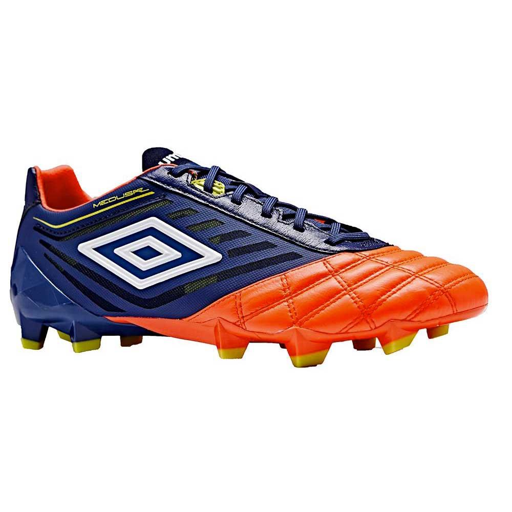 Umbro Chaussures Football Medusæ Pro Hg EU 42 Deep Cobalt / White / Fiery Coral / Sulphur