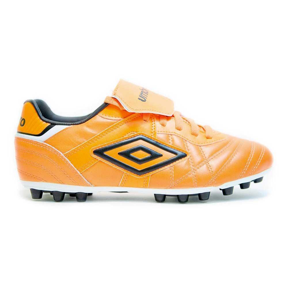 Umbro Speciali Eternal Premier Ag Football Boots EU 42 1/2 Shocking Orange / Black / White