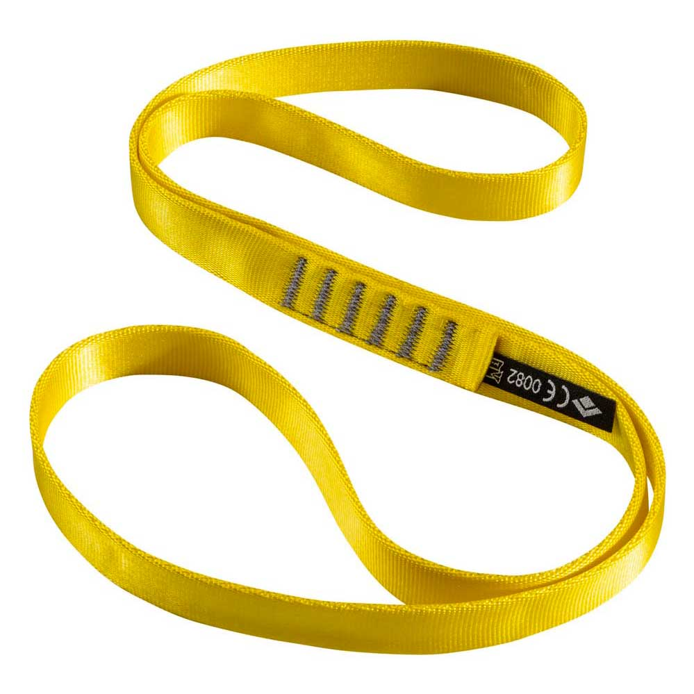 Black Diamond 18 Mm Nylon Runner 60 Cm 60 cm Yellow