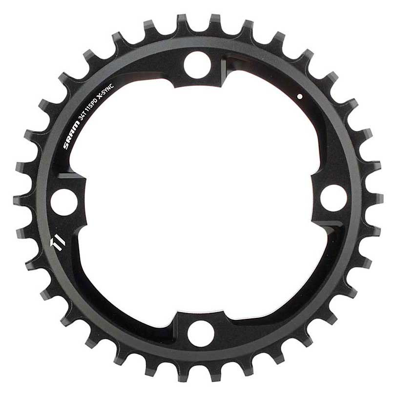 Sram Sram Sram Chain Ring X-sync 34t 104bcd Alum 5mm 11 Speed negro , Platos Sram bc9620