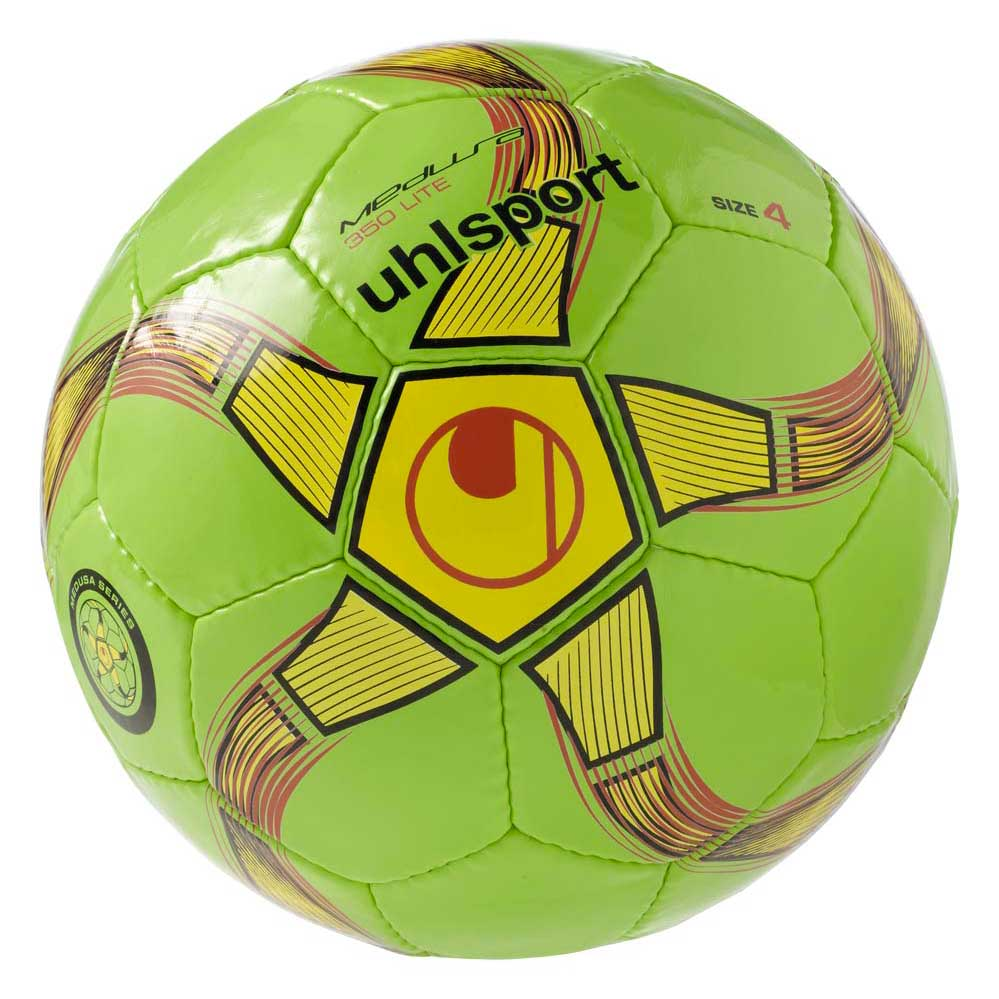 Uhlsport Medusa Anteo 350 Lite Indoor Football Ball 4 Fl.Green / Fl.Yellow / Black