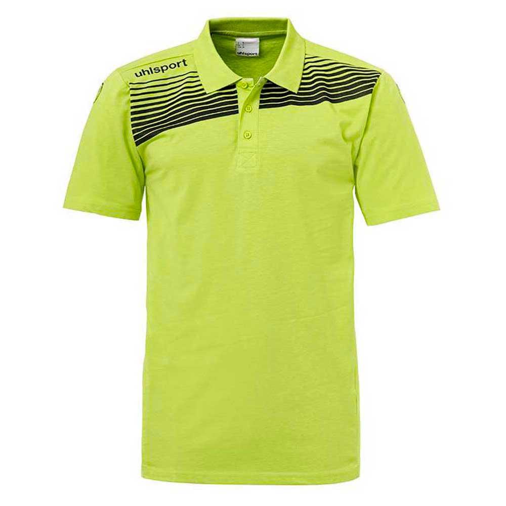 Uhlsport Liga 2.0 Polo Shirt S Flash Green / Black