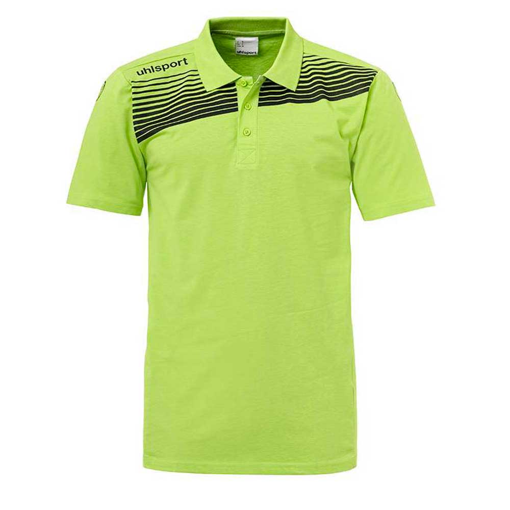 Uhlsport Liga 2.0 Polo Shirt 140 Flash Green / Black
