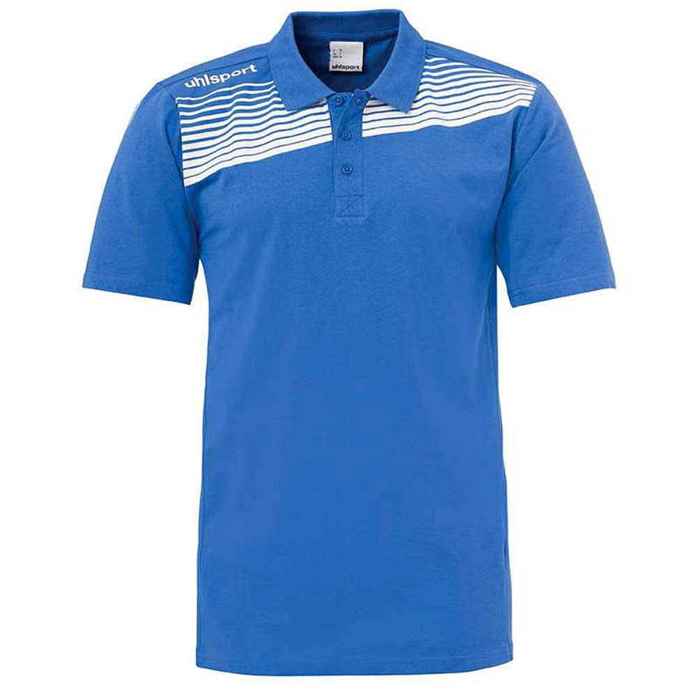 Uhlsport Liga 2.0 Polo Shirt 140 Azurblue / White