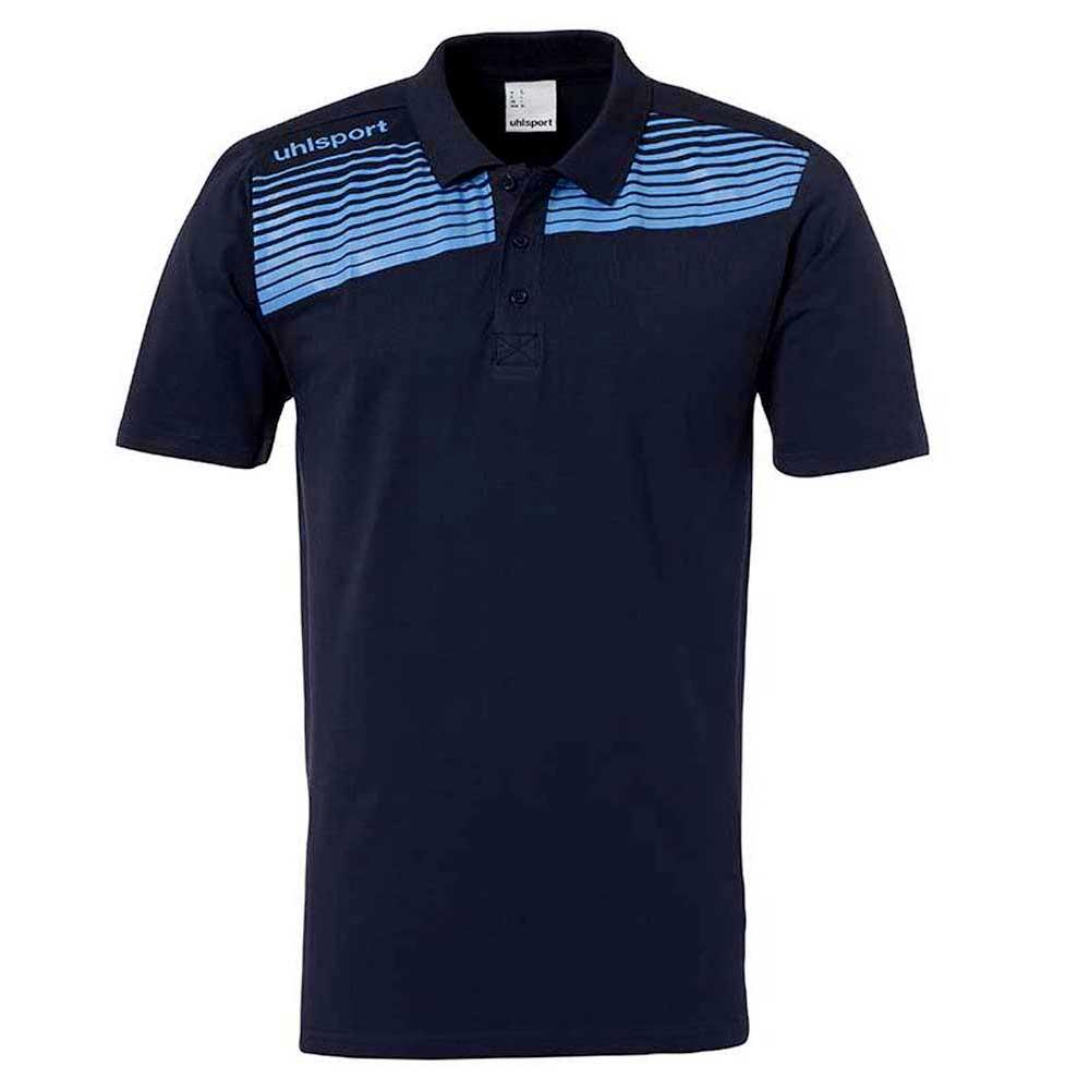 Uhlsport Liga 2.0 Polo Shirt S Navy / Sky Blue