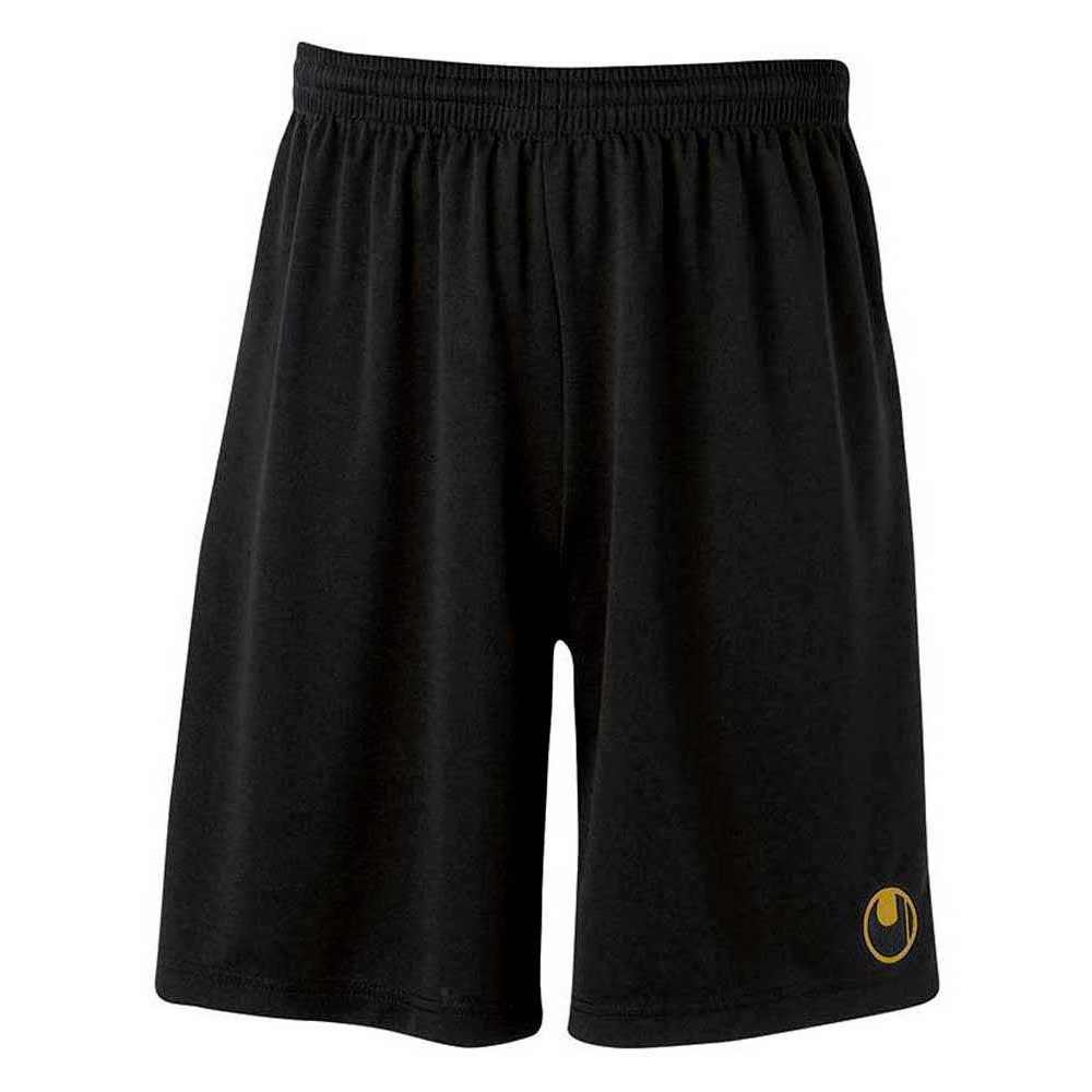 Uhlsport Center Ii Shorts With Slip Inside XS Black / Gold