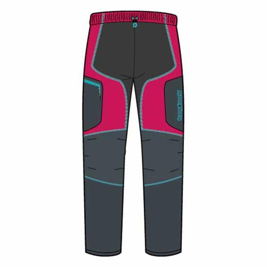 Trangoworld Sannat Pants Short XL Rose Red / Anthracite